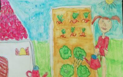 Hétszínvirág óvodás sikere a rajzpályázaton